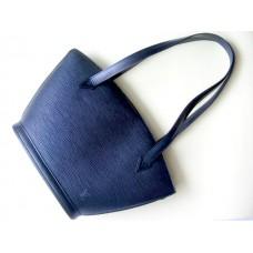 Louis Vuitton Black Epi Leather Saint Jacques Tote Bag