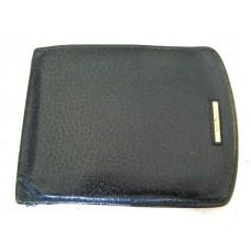 Salvatore Ferragamo Black Genuine Leather Wallet