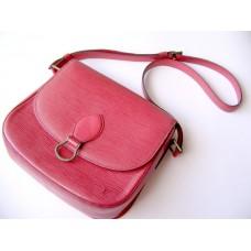 Louis Vuitton Epi Saint Cloud Red Shoulder Bag