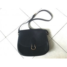 Louis Vuitton Epi Saint Cloud Black Shoulder Bag