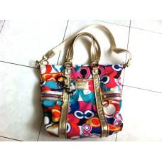 COACH Poppy Pop C Spotlight Tote Bag 13830