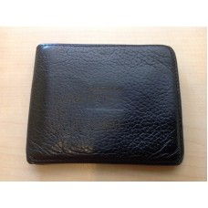 Burberry UK Black Genuine Leather Wallet