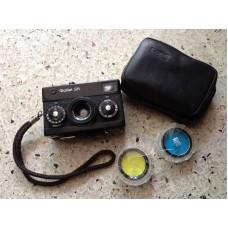 Vintage Rollei 35 Classic Black Film Camera