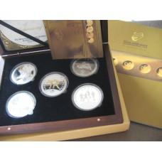XV Mediterranean Games Almeria 2005 Coin Set
