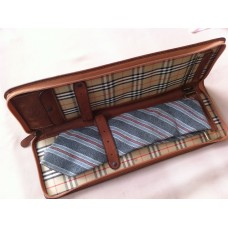 Burberrys' Genuine Leather Tie Case and Tie