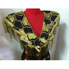 Vintage Beaded Dance Costume