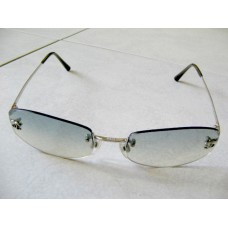 Chanel Silver Plated Frameless Sunglasses