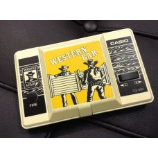CASIO Western Bar Handheld Game Console CG-300 (1984)