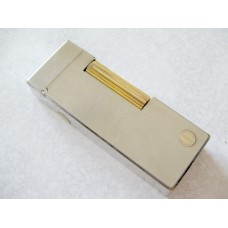 Dunhill Rollagas Steel/Gold Plated Lighter