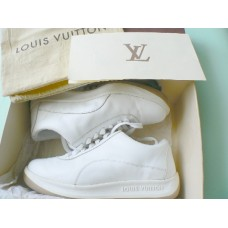 Louis Vuitton White Calf Leather Sneaker