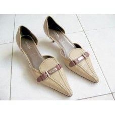 Prada Designer Leather Shoe for Ladies