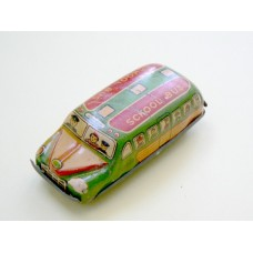 1950's Asahi Japan Tin Toy School Bus