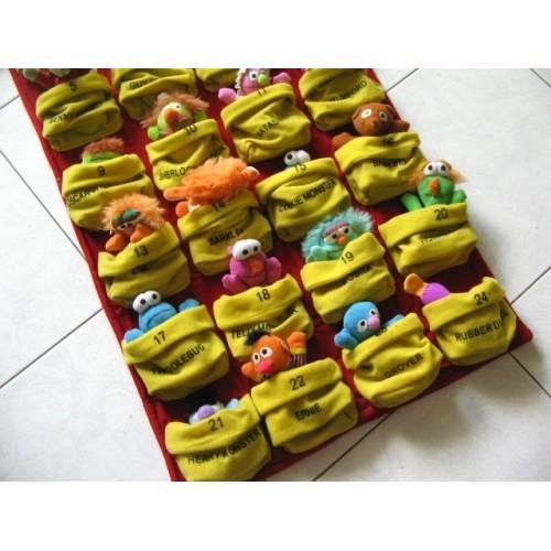 Sesame Street Collectible Mini Bean Pals Set
