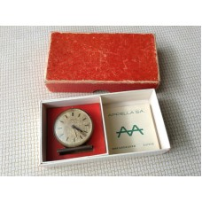 APPELLA SA. Swiss AA Smallest Winding Alarm Clock